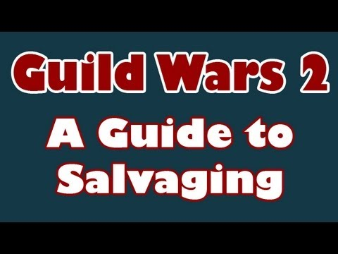 Guild Wars 2: What to Salvage & With Which Kits. [GW2 Salvaging Guide]