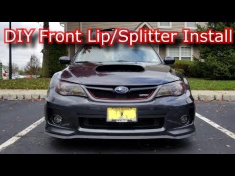 DIY Front Splitter/Lip: Easy Under $20 Full Install