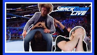 Reaction   KEVIN OWENS & SAMI ZAYN Brutally Assault DANIEL BRYAN   WWE Smackdown Live March 20, 2018