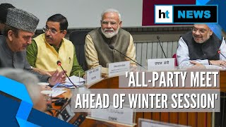 Leaders attend all-party meeting ahead of Parliament's winter session