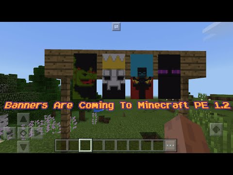Minecraft PE Update News - Banners Confirmed For Minecraft PE 1.2