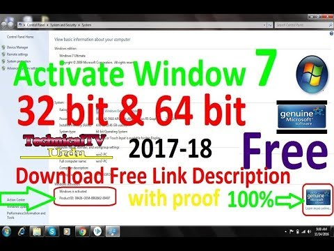 window 7 ultimate 64 bit free download with activation key