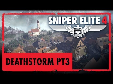 Sniper Elite 4 Mission Deathstorm Part 3 DLC (7 Minutes Gameplay PC)