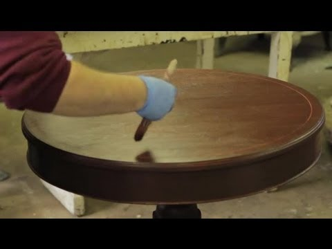 How to Finish Furniture With a Gel Stain : Furniture Repair & Refinishing
