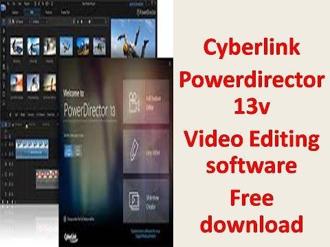 How To Download Cyberlink Powerdirector 13 Video Editing Software   Free In Telugu