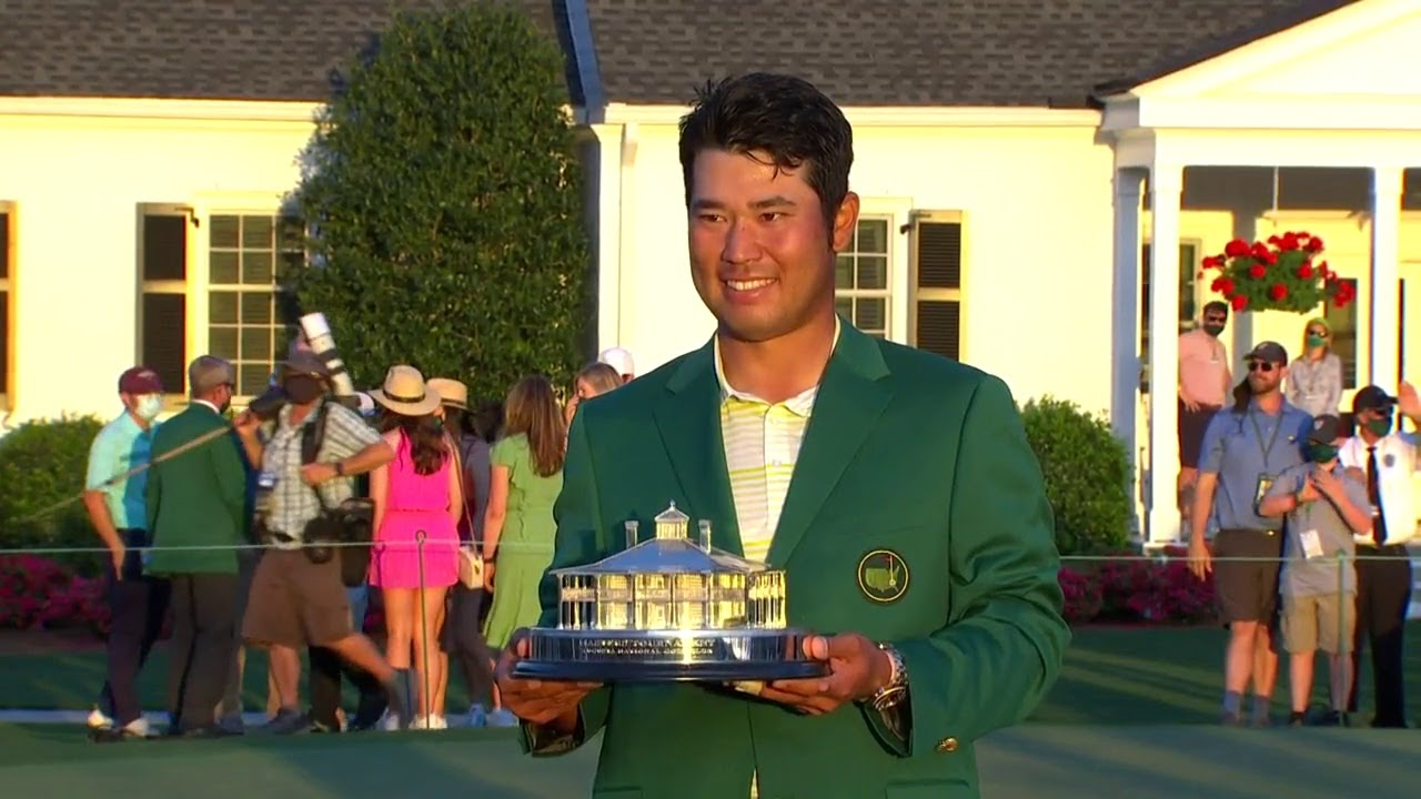The Masters Trophy Presentation