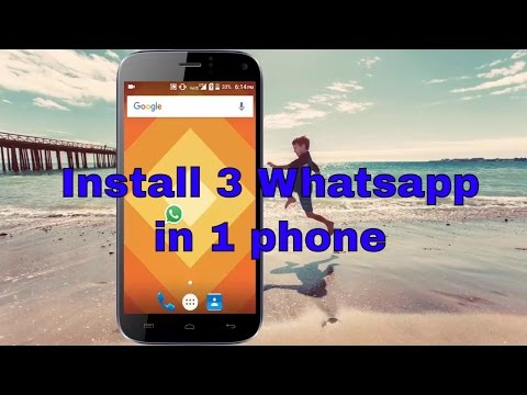 How to Install 3 Whatsapp in Your Android Device [Hindi]
