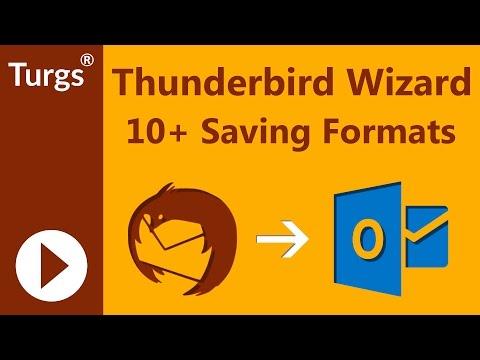 Turgs Thunderbird Wizard - Thunderbird to Outlook Converter
