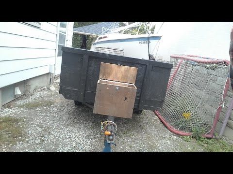 Trailer Tool Box Build