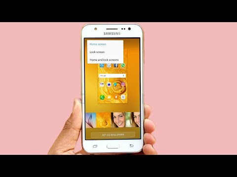 Change wallpaper Samsung Galaxy J1,J2,J3,J5,J7,S7,S8 How to Change Lock Screen Background Wallpaper
