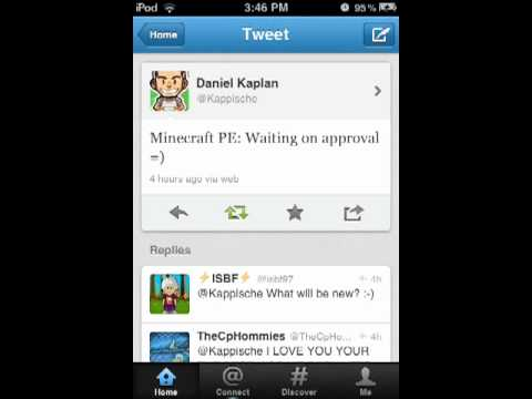 Minecraft PE 0.4.0 update today!?!?
