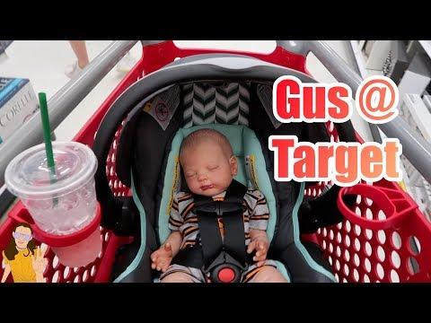 Reborn Baby Gus Goes to Target!   Kelli Maple