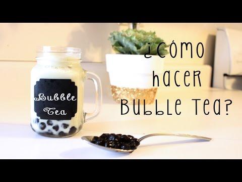 ¿Cómo hacer Bubble Tea? | Nanna