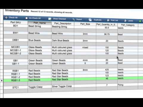 How To Create List Subtotals In Bead Manager Pro