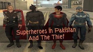 Superheroes In Pakistan   The Thief   By Metal Gamers