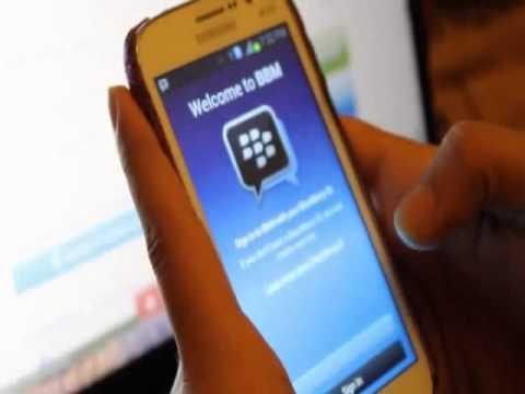 cara instalasi BBM (Blackberry id Messenger) pada Hp Android