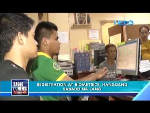 COMELEC reminds voters biometric registration period