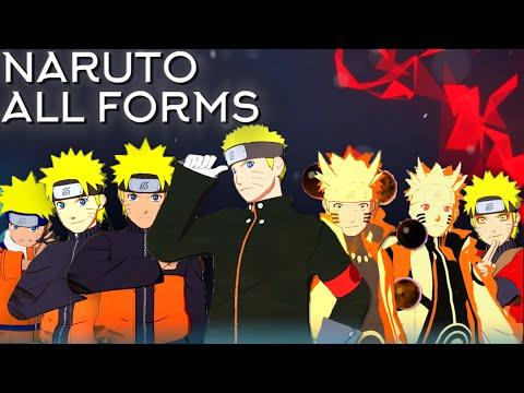 Naruto Moveset All 8 Forms+Combo+Awakening[Showcase] Naruto