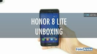 Honor 8 Lite Unboxing