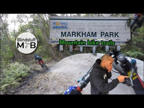 CRACKING My First Carbon Mountain Bike Frame | Florida MTB Trails at Markham Park w/ BlindstuffMTB