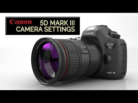 Canon EOS 5D Mark III Camera Settings (FAST!)