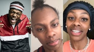 """Jess Hilarious """"Responds To DC Young Fly For Clowning Her Ponytail"""""""