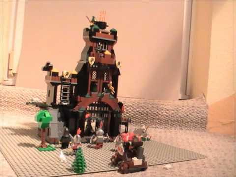 Lego!!!  Angriff Rettung der Jungfrau.wmv