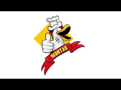 draw chicken logo using adobe illustrator