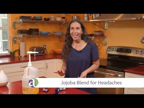 Essential Oil and Jojoba Blend for Headaches