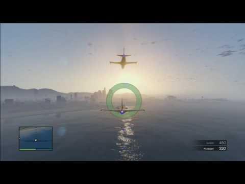 GTA Online Flight School Formation Flight Gold