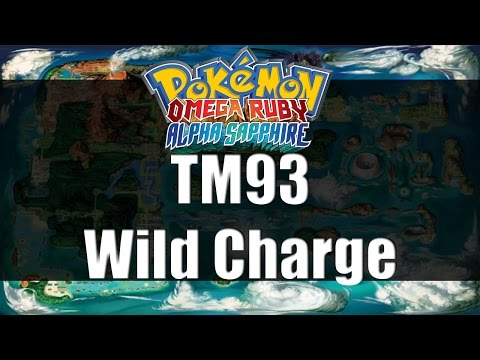Pokemon Omega Ruby & Alpha Sapphire | Where to get TM93 Wild Charge