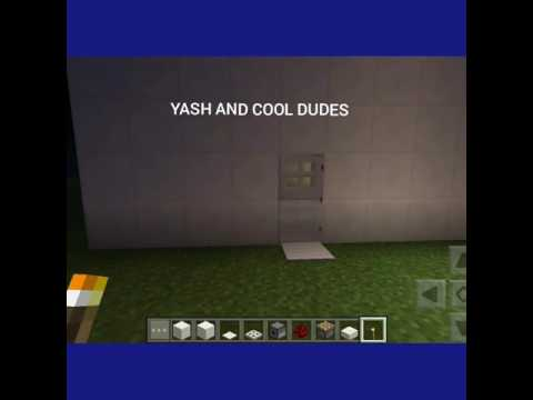 How to make a bathroom in minecraft pe