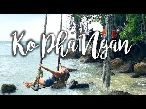 KO PHA NGAN VLOG | Full Moon Party, Waterfalls, & Ocean Swings