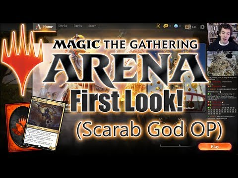 Magic: the Gathering Arena Beta First Look!