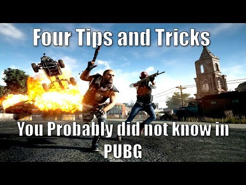 Four Tips and Tricks You Probably did not Know in PUBG