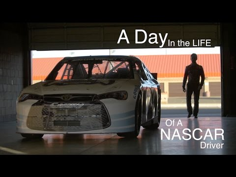 A DAY IN THE LIFE OF A NASCAR DRIVER  -  Vlog #203
