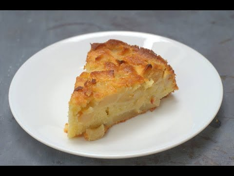 Easy French Apple Cake - For Thanksgiving. Sounds fancy, but so easy?!