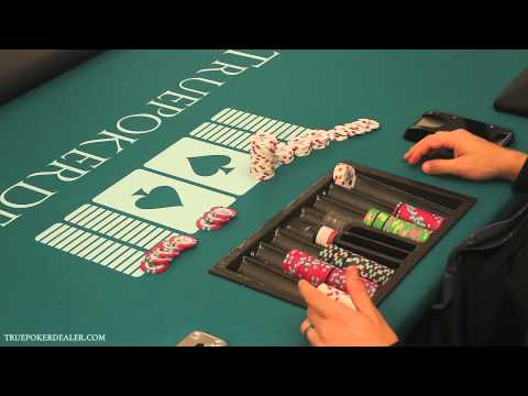 How to Deal Poker - Cheque Change & Color Ups (Part 1 of 2)