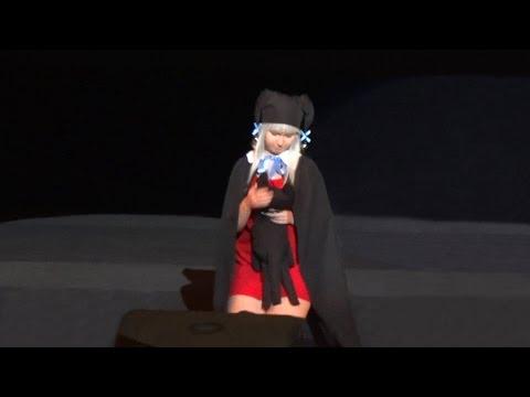 AnimaniA 2011 Nanashi, Sayaka - Suika Cosplay Defile