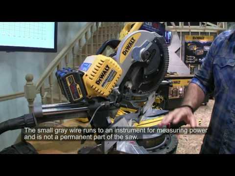 The DeWalt 12-inch Sliding Compound Miter Saw Goes Cordless