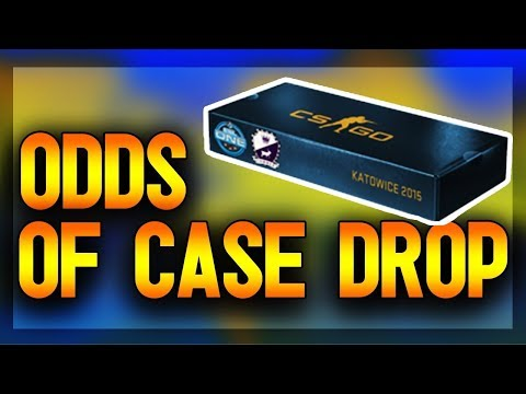 CSGO - Odds Of Getting A Souvenir Case Drop