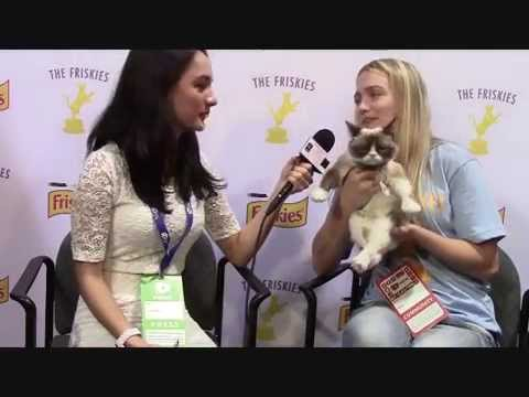 VIPAccessEXCLUSIVE: Grumpy Cat Interview With Alexisjoyvipaccess - Vidcon