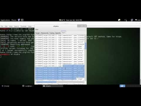 Router Password Cracking
