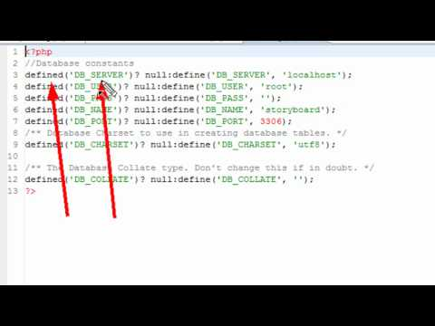 PHP Programming 39 MySQL and Config file