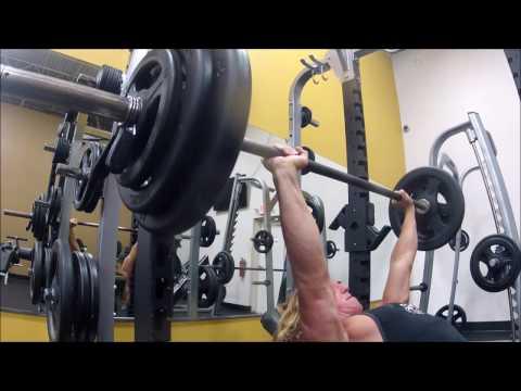 Minor Injury? Push Workout Highlights / Vlog Update