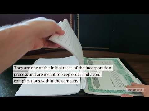 What are By-laws of a Corporation?