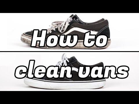 How to clean Vans (DIY)