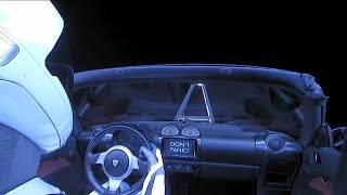 SpaceX Falcon Heavy Rocket Sends a Car to Mars | Video