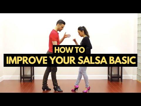 How to Improve Your Salsa Basic Step On1 & On2   TheDanceDojo.com