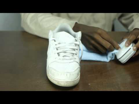 Neu Shu Cleaning White Sneakers
